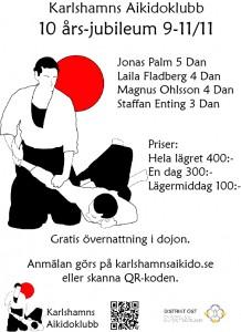 Karlshamns Aikidoklubb 10 år